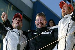 Button e Brawn Gp Campioni del Mondo