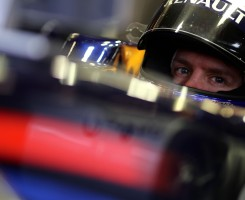 Vettel - Photo by Paul Gilham/Getty Images