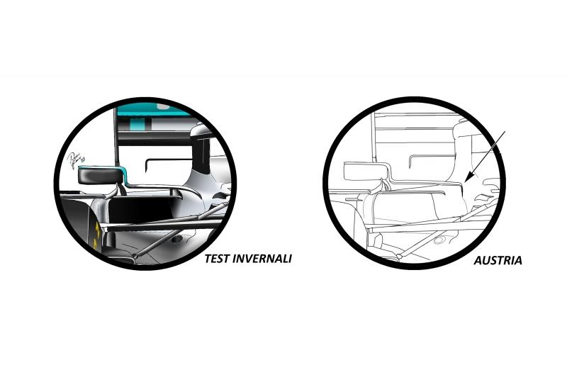 confronto-specchietti-Mercedes-AustrianGP-jpeg