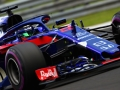 BUDAPEST, HUNGARY - JULY 27: Brendon Hartley of New Zealand driving the (28) Scuderia Toro Rosso STR13 Honda on track during practice for the Formula One Grand Prix of Hungary at Hungaroring on July 27, 2018 in Budapest, Hungary.  (Photo by Mark Thompson/Getty Images)