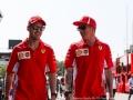 Sebastian Vettel Ferrari Kimi Raikkonen Scuderia Ferrari