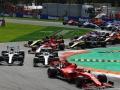 Start Italian GP, Monza 2019