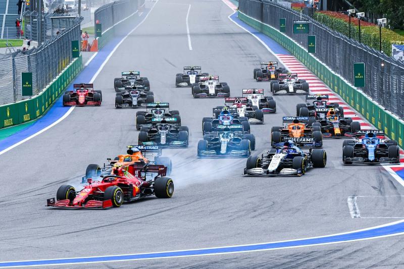 GP RUSSIA F1/2021 - DOMENICA 26/09/2021