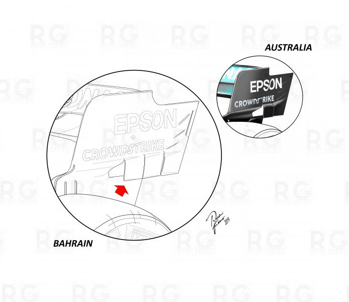 endplate mercedes bahrain