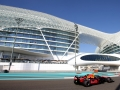 ABU DHABI, UNITED ARAB EMIRATES - NOVEMBER 23:  Max Verstappen of the Netherlands driving the (33) Aston Martin Red Bull Racing RB14 TAG Heuer on track during practice for the Abu Dhabi Formula One Grand Prix at Yas Marina Circuit on November 23, 2018 in Abu Dhabi, United Arab Emirates.  (Photo by Charles Coates/Getty Images)