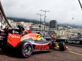 MONTE-CARLO, MONACO - MAY 26: Max Verstappen of the Netherlands driving the (33) Red Bull Racing Red Bull-TAG Heuer RB12 TAG Heuer leaves the pits during practice for the Monaco Formula One Grand Prix at Circuit de Monaco on May 26, 2016 in Monte-Carlo, Monaco.  (Photo by Mark Thompson/Getty Images)