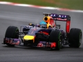 NORTHAMPTON, ENGLAND - JULY 05:  Sebastian Vettel of Germany and Infiniti Red Bull Racing drives during final practice ahead of the British Formula One Grand Prix at Silverstone Circuit on July 5, 2014 in Northampton, United Kingdom.  (Photo by Dan Istitene/Getty Images)