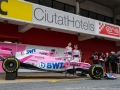 Presentazione Force India Esteban Ocon-Sergio Perez