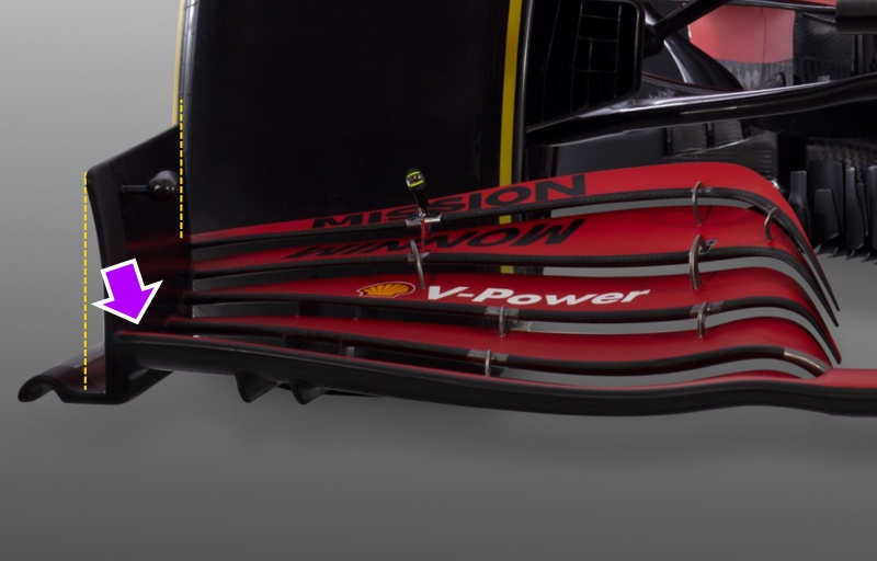 front wing sf21