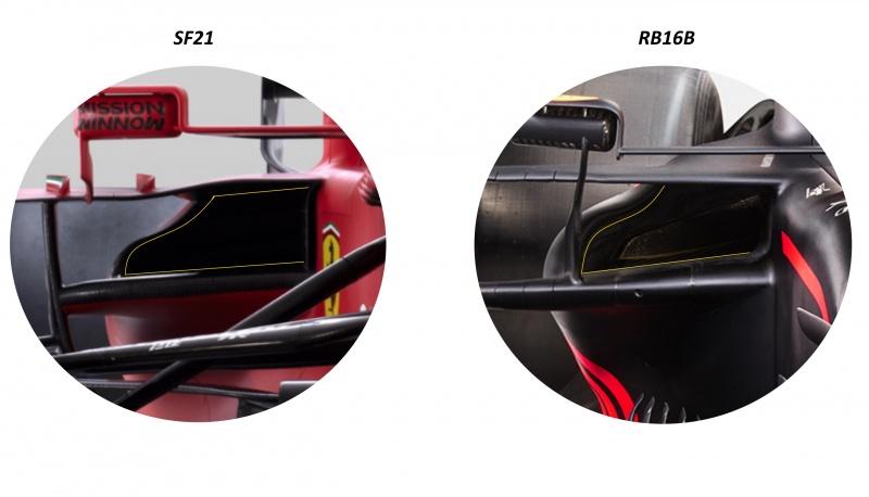 radiators duct sf21 vs rb16b
