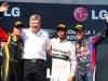 Gp Ungheria: terzo posto per Vettel