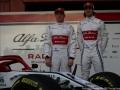 07 Kimi Raikkonen & 99 Antonio Giovinazzi