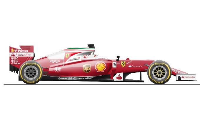 ferrari f1 2016 all rumors about new aerodynamics power unit and livery. Black Bedroom Furniture Sets. Home Design Ideas