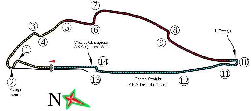 Canada, Circuito F1