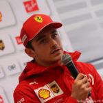 Test F1, Charles Leclerc: La guidabilità della Ferrari SF90 è notevole