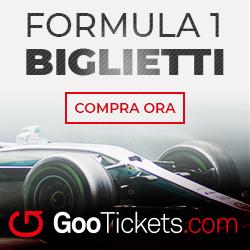 Biglietti Formula Uno