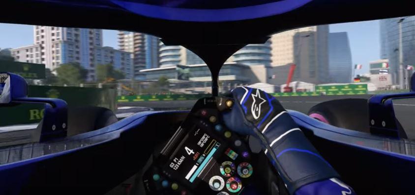 Formula 1, On board con Alex Albon sul circuito di Baku [ VIDEO ]