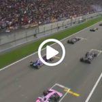 Gp Cina F1, la partenza: Lewis Hamilton prende la leadership! [ VIDEO ]