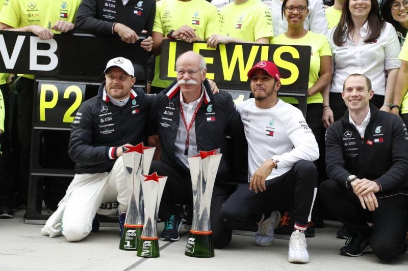 GP Cina F1 | Prova di forza Mercedes: terza doppietta consecutiva