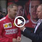 GP Cina F1, Vettel: Contento del podio, ma le Mercedes erano troppo veloci! [ VIDEO ]