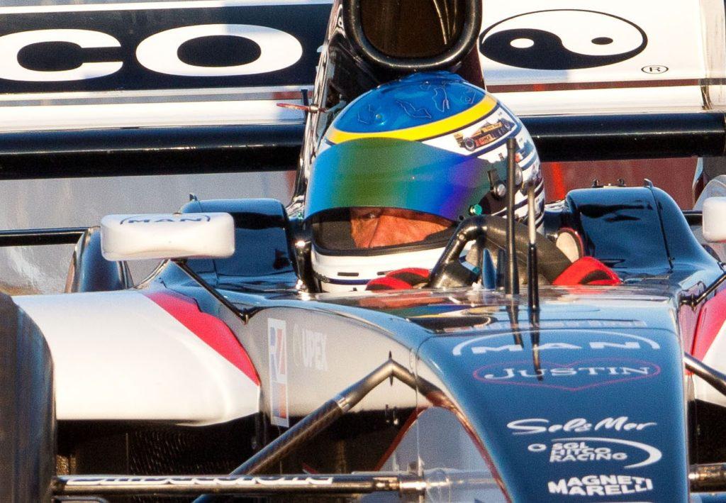Gabriele Tredozi su Minardi F1