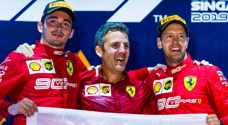 Doppietta Ferrari: Vettel 1°, Leclerc 2°!