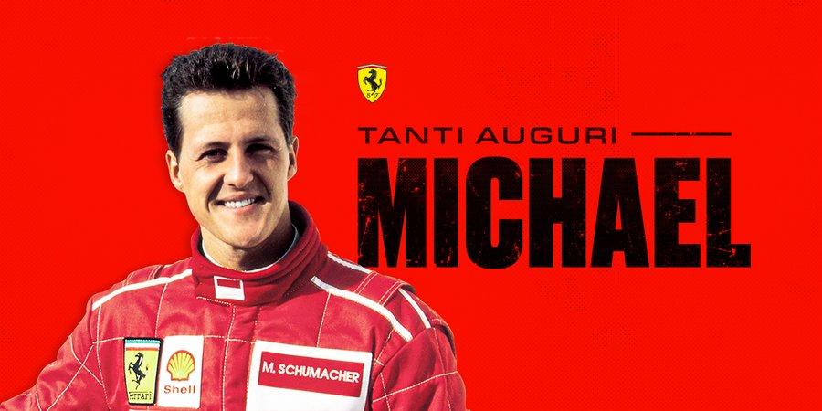 Auguri Buon Compleanno 51.Michael Schumacher Compie 51 Anni Gli Auguri Di Buon