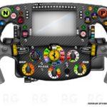 F1, Ferrari SF1000: Le differenze fra i volanti di Vettel e Leclerc –
