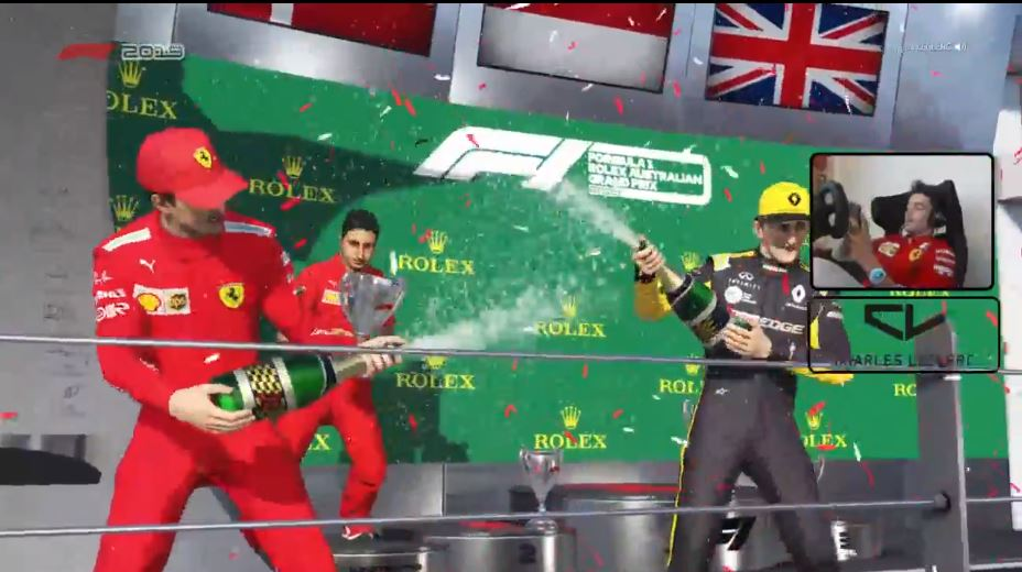 Virtual GP | Australia F1 2020: Pole e vittoria per Charles Leclerc [ VIDEO ] –