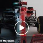 F1, Confronto tecnico fra Ferrari SF1000 e Mercedes W11 [ VIDEO ] –