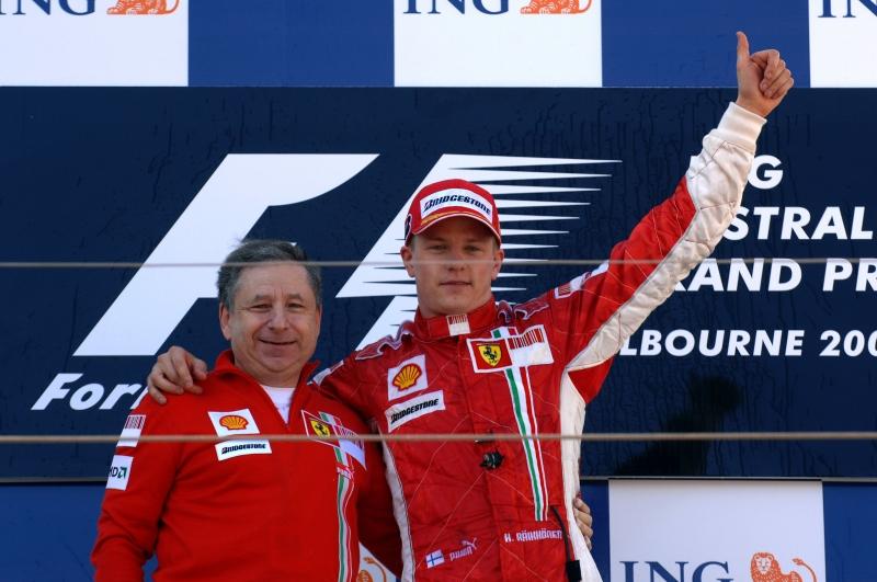 Raikkonen lascia la Ferrari e va alla Sauber