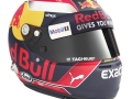 Max Verstappen's Helmet seen during a studio shoot in London, United Kingdom on February, 2017