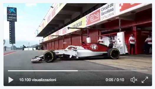 Formula1 Test Montmelò Ricciardo è un missile; Vettel 4° dopo le Mercedes