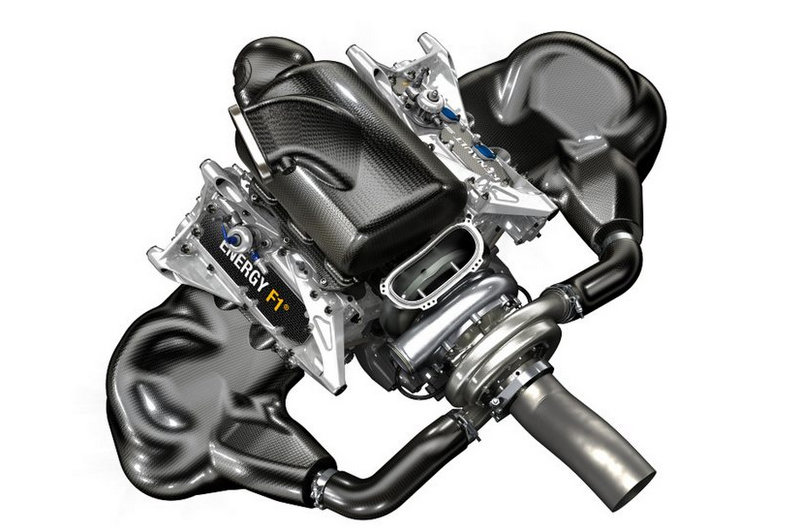 Renault F1 turbo engine energy