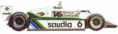 Williams-Ford FW07C/FW08