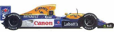 Williams-Renault FW14B