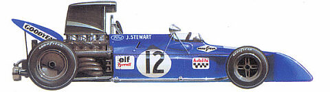 Tyrrell-Ford 001/003