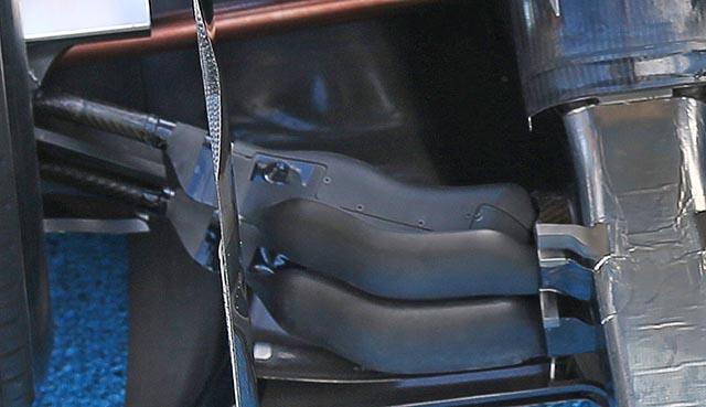 mclaren mp4-29 rear