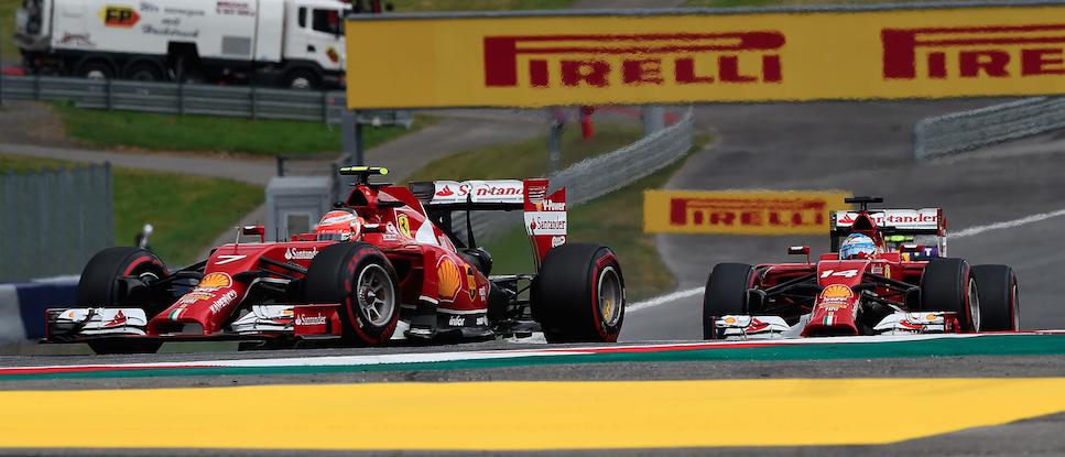 Alonso Raikkonen F1 Austria