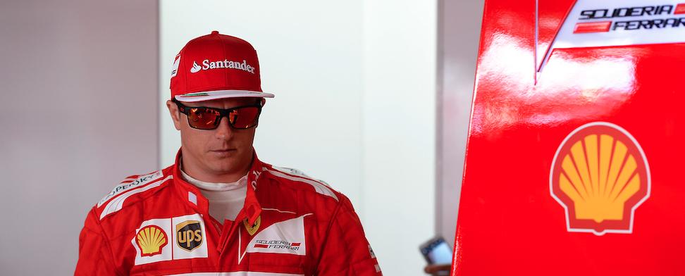Raikkonen F1 Ferrari