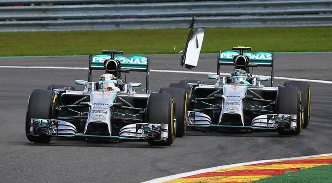 Rosberg vs Hamilton