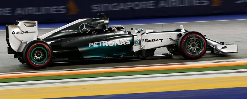 Gp Singapore F1 Hamilton