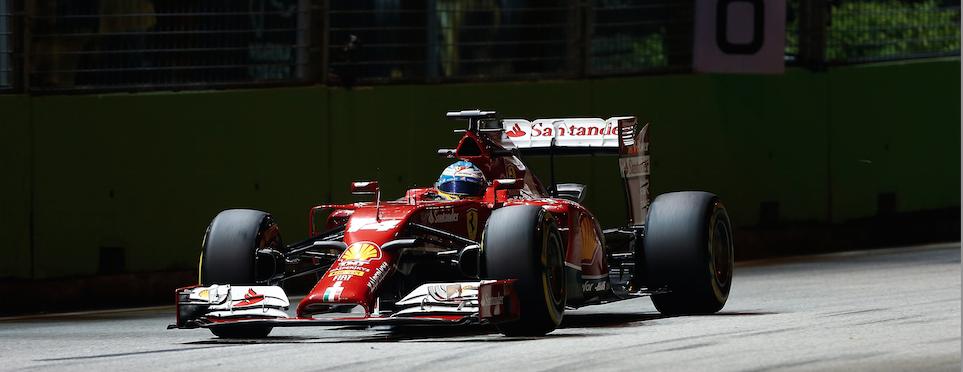 Gp Singapore F1 Alonso