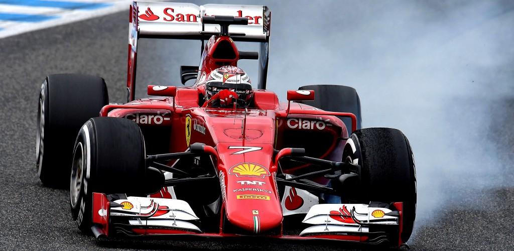Raikkonen Test F1 Jerez