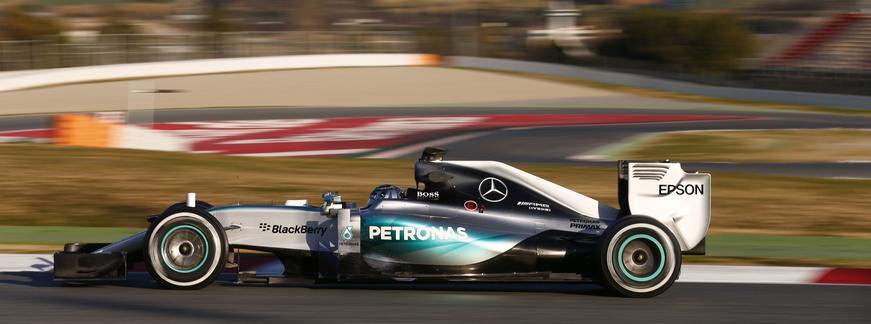 Rosberg Test F1