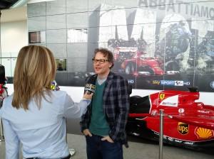 Villeneuve Sky Sport F1 HD