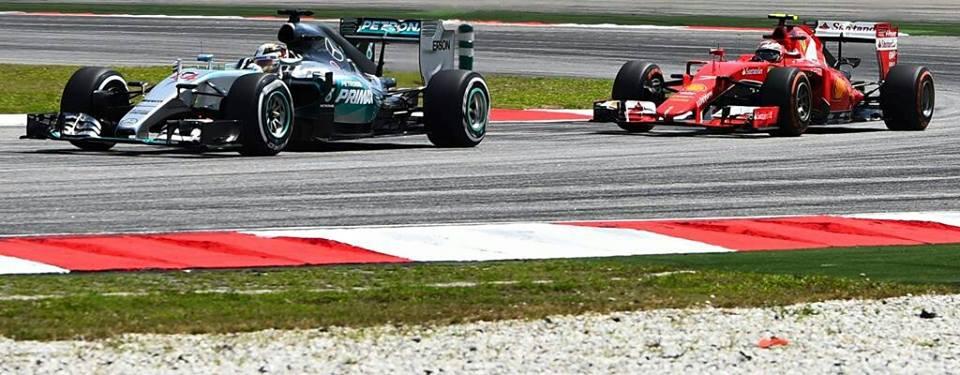 Gp Malesia F1 Ferrari Mercedes