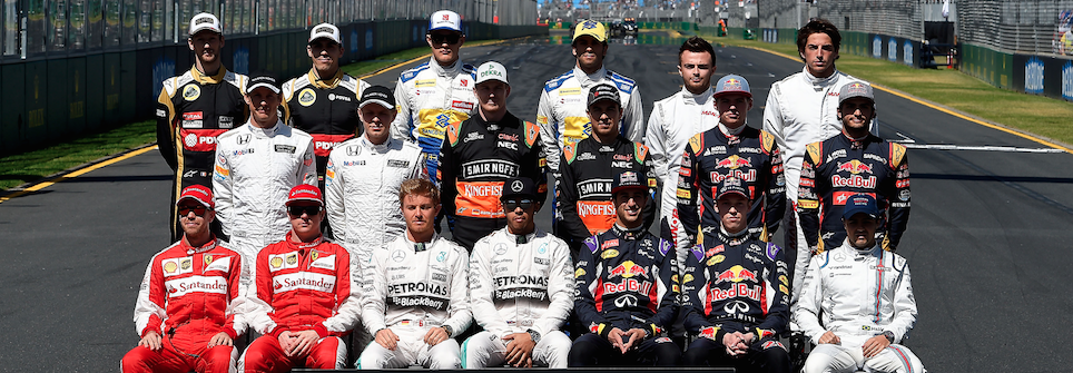 Pagelle F1 Piloti 2015