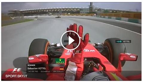 Vettel Gp Malesia F1 2015