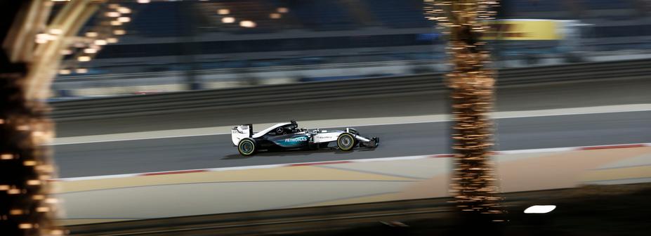 Griglia di Partenza Gp Bahrain F1 2015 Hamilton